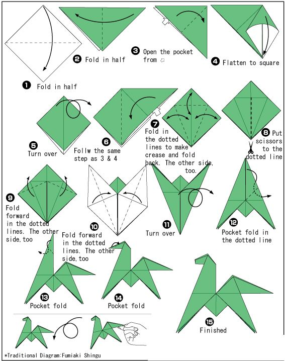easy origami rose step by step instructions