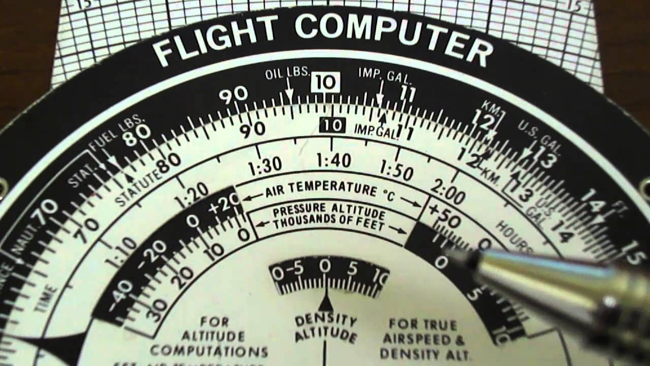 e6b flight computer instruction french