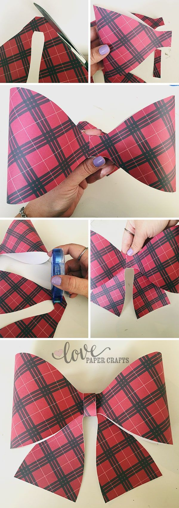 diy fancy christmas wrapping instructions