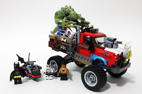 lego killer croc tail gator instructions